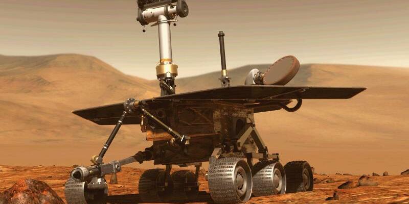 Marsrover «Opportunity» - Foto: Nasa/Archiv