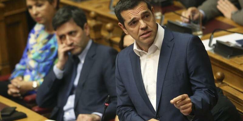 Alexis Tsipras - Foto: Petros Giannakouris