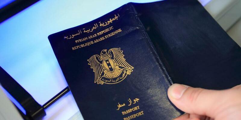 Syrischer Pass - Foto: Jens Wolf