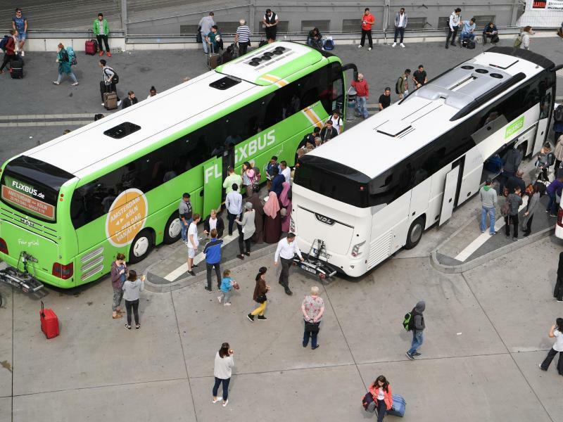 Terminal für Fernbusse in Frankfurt am Main - Foto: Arne Dedert