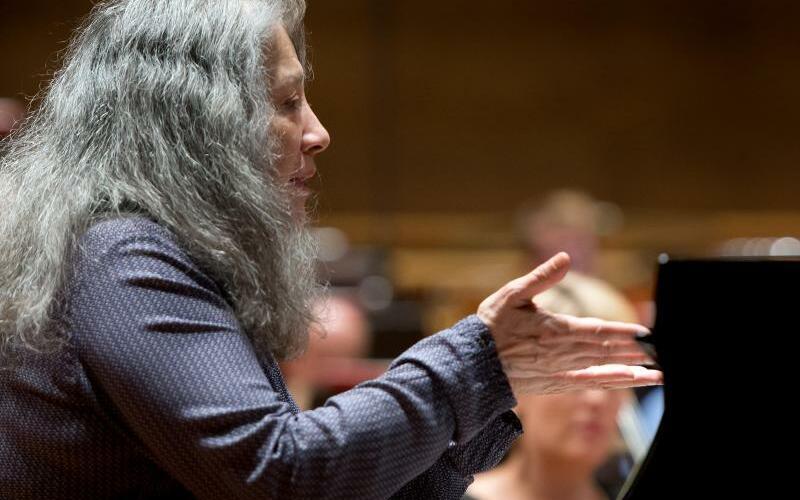Martha Argerich - Foto: Soeren Stache
