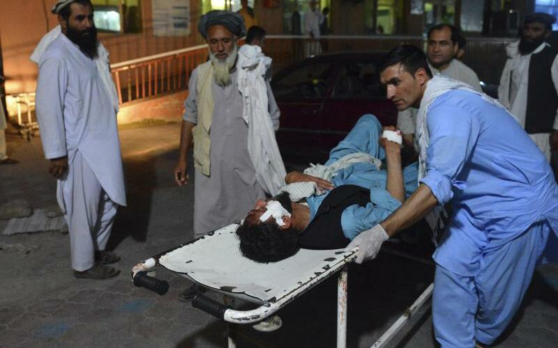 Selbstmordanschlag in Afghanistan - Foto: Mohammad Anwar Danishyar/AP