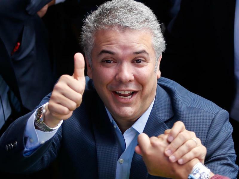 Ivan Duque - Foto: Fernando Vergara, AP