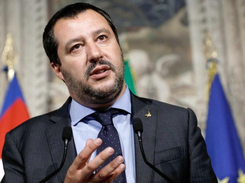 Salvini - Foto: Riccardo Antimiani