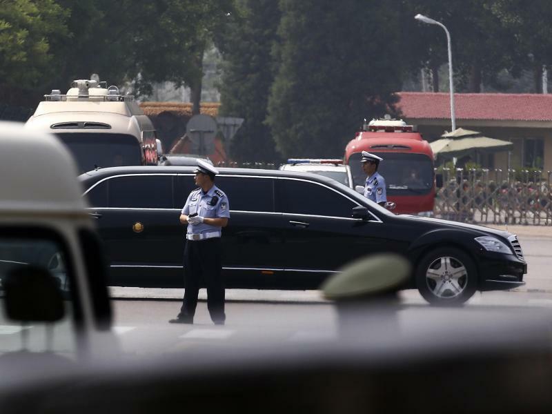 Kim Jong Un in Peking - Foto: Andy Wong/AP