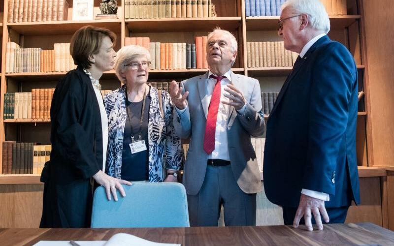 Bundespräsident Steinmeier in den USA - Foto: Bernd von Jutrczenka