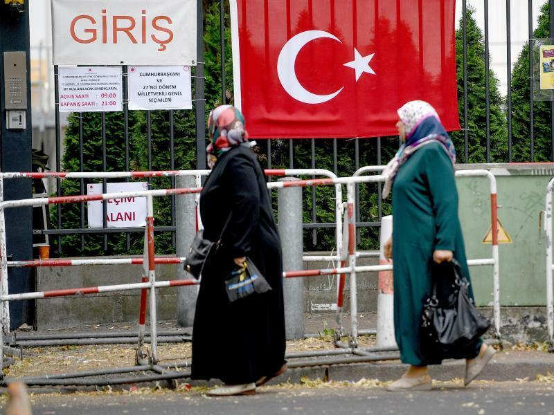 Ende der Türkei-Wahl in Deutschland - Foto: Britta Pedersen