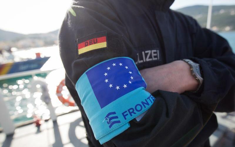 Frontex-Einsatz der Bundespolizei - Foto: Christian Charisius