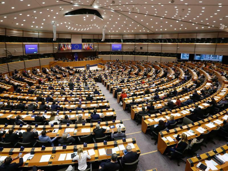 Europaparlament - Foto: Laurent Dubrule/EPA