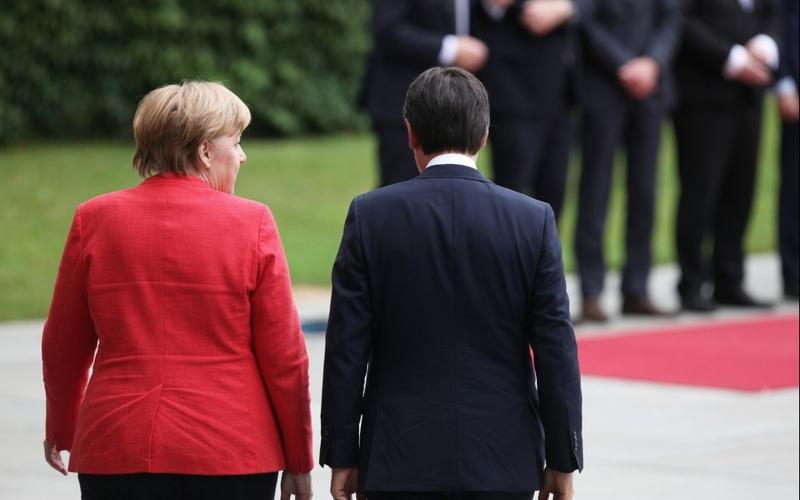 Angela Merkel und Giuseppe Conte - Foto: über dts Nachrichtenagentur