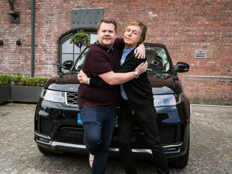 Sir Paul McCartney on Carpool Karaoke - Foto: Craig Sugden/Press Association Images