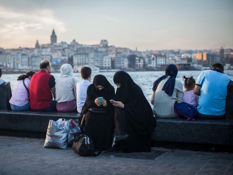 Online am Bosporus - Foto: Oliver Weiken