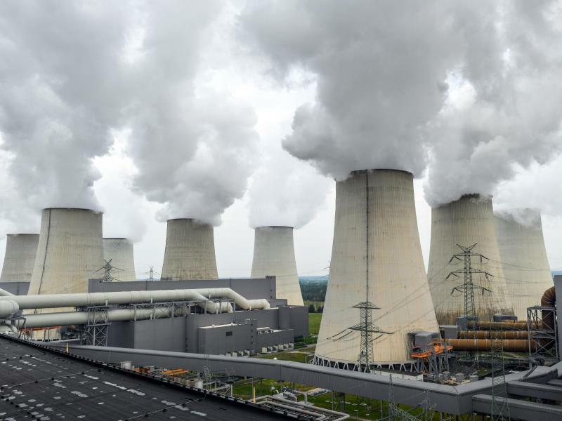 Braunkohlekraftwerk - Foto: Patrick Pleul