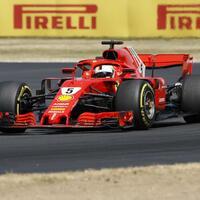 Sebastian Vettel - Foto: Martin Rickett/PA Wire