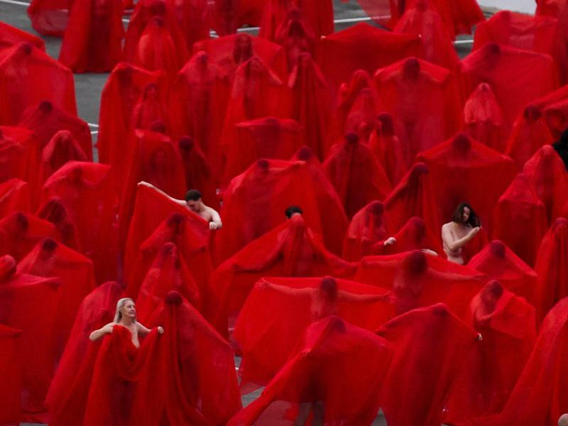 Spencer Tunick - Foto: Penny Stephens/AAP