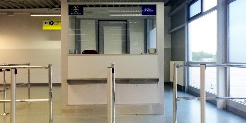 Kontrolle am Flughafen - Foto: über dts Nachrichtenagentur