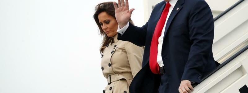 Ankunft Trump - Foto: Pablo Martinez Monsivais, AP