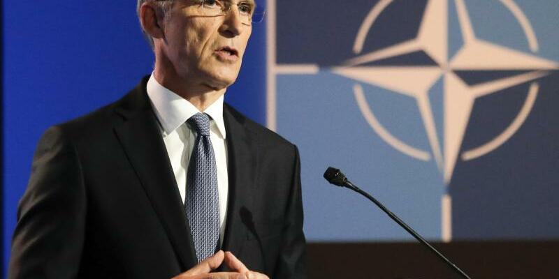 Nato-Generalsekretär Stoltenberg in Brüssel - Foto: Markus Schreiber/AP