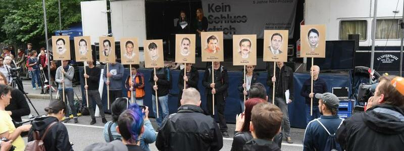 Demonstration vor dem NSU-Prozess - Foto: Tobias Hase