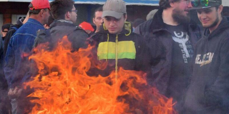 Streik bei Neue Halberg Guss - Foto: Hendrik Schmidt