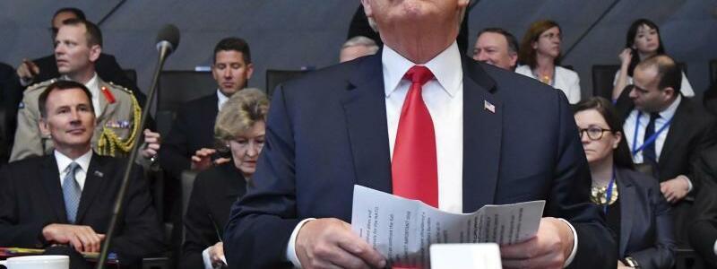 Trump in Brüssel - Foto: Geert Vanden Wijngaert/AP