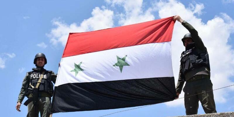 Rebellen geben Daraa auf - Foto: Syrian Arab New Agency/Archiv