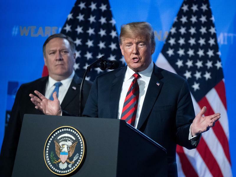Donald Trump - Foto: Bernd von Jutrczenka