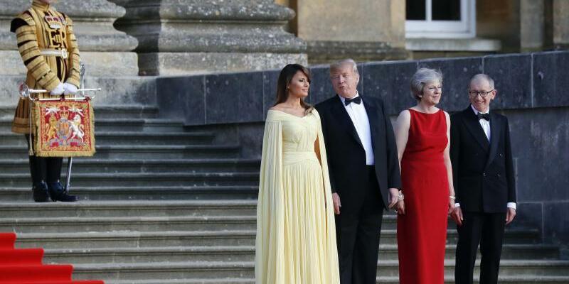 Empfang - Foto: Pablo Martinez Monsivais/AP