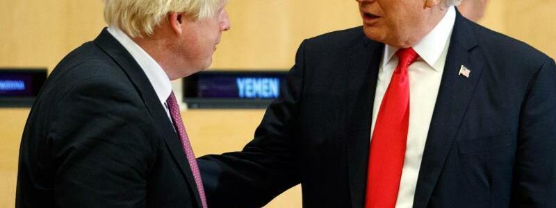 Boris Johnson und Donald Trump - Foto: Evan Vucci/AP/Archiv