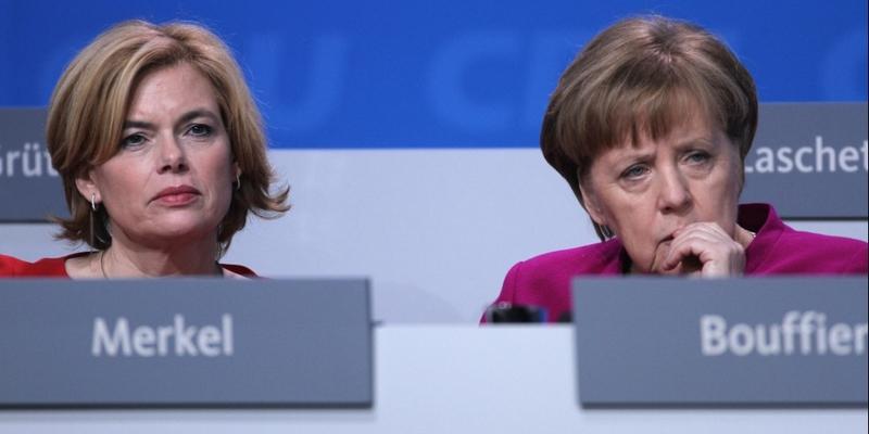 Julia Klöckner und Angela Merkel - Foto: über dts Nachrichtenagentur