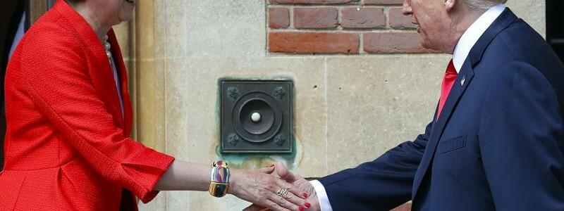 Theresa May und Donald Trump - Foto: Pablo Martinez Monsivais/AP