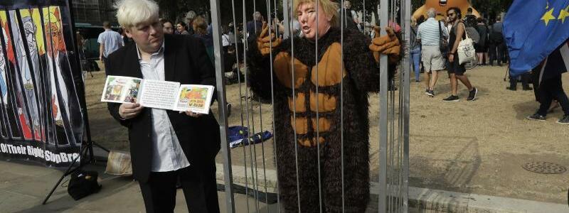 Bunter Protest - Foto: Matt Dunham/AP