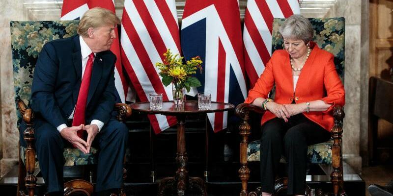 Trump in Großbritannien - Foto: Jack Taylor/PA Wire