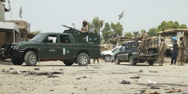 Anschlag in Pakistan - Foto: Abdul Haseeb/AP