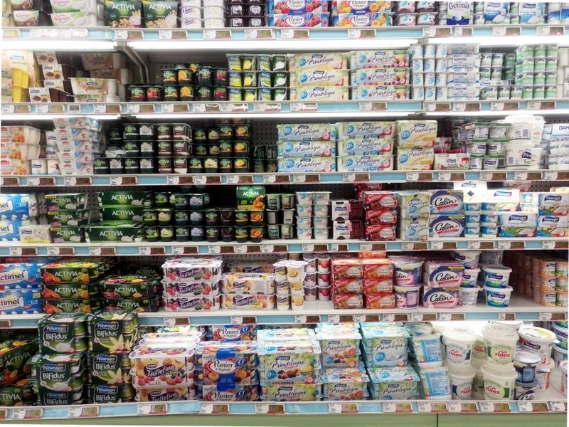 Joghurt im Supermarkt - Foto: über dts Nachrichtenagentur