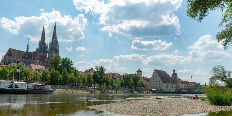 Niedriger Wasserstand - Foto: Armin Weigel