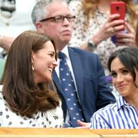 Wimbledon 2018 - Kate und Meghan - Foto: Steven Paston/PA