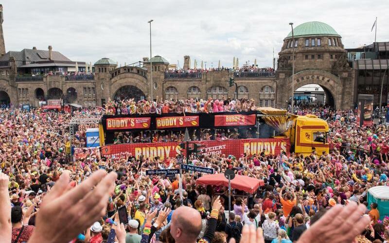 Schlagermove in Hamburg 2018 - Foto: Daniel Bockwoldt