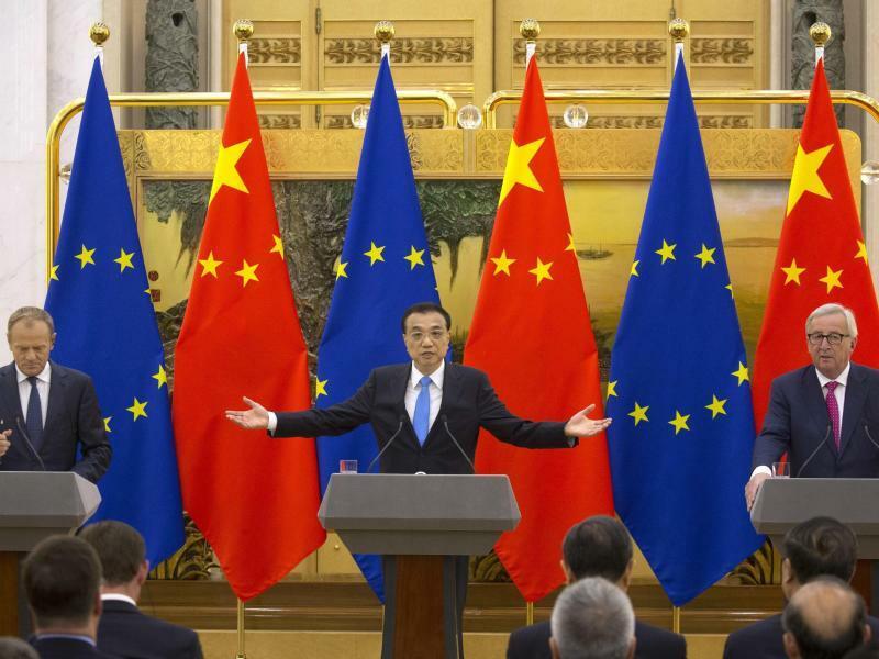 EU-China-Gipfel - Foto: Ng Han Guan, AP