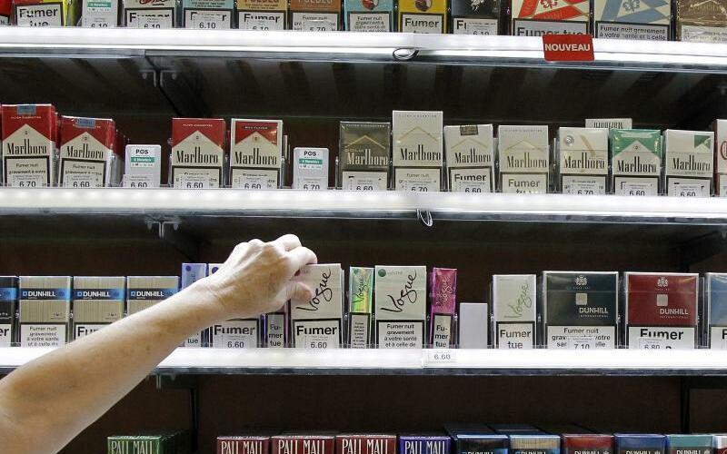 Zigaretten-Packungen - Foto: Guillaume Horcajuelo