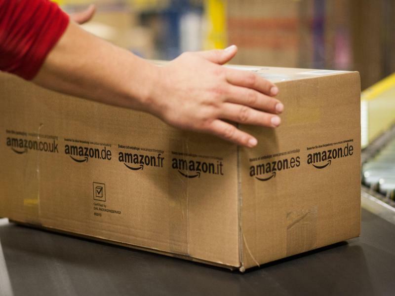 Amazon Logistikzentrum - Foto: Christoph Schmidt
