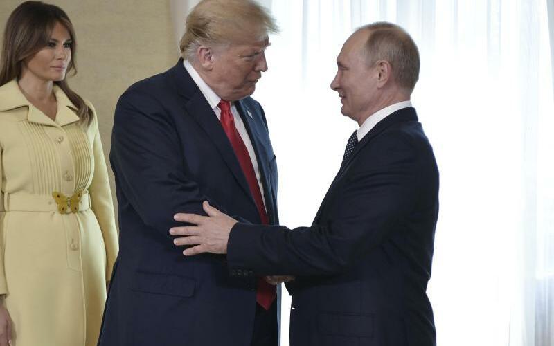 Begrüßung - Foto: Alexei Nikolsky/Pool Sputnik Kremlin