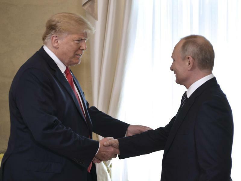 Trump und Putin - Foto: Alexei Nikolsky/Pool Sputnik Kremlin