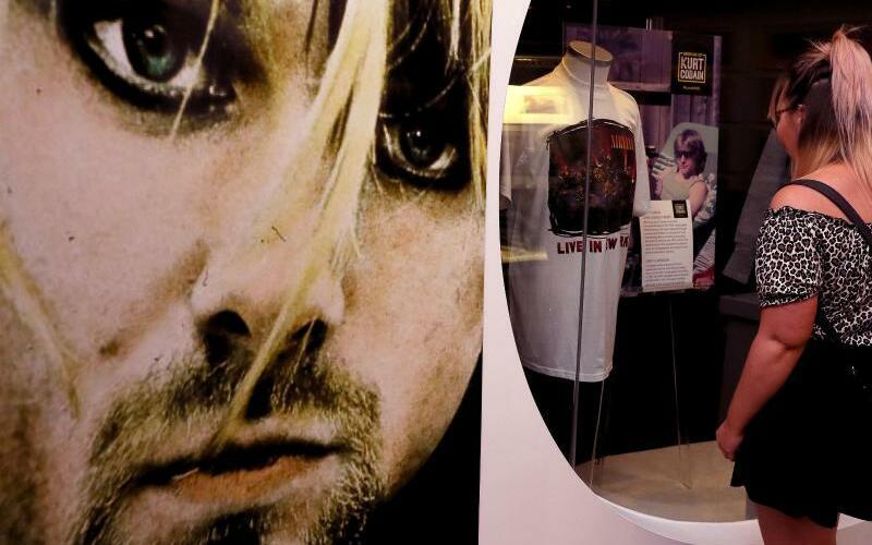 Kurt Cobain - Foto: In der Ausstellung «Growing Up Kurt Cobain» kann man in die Kindheit von Kurt Cobain eintauchen. Foto:Brian Lawless/PA