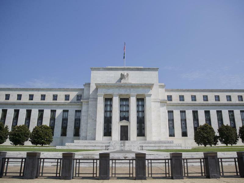 US-Notenbank in Washington - Foto: Pablo Martinez Monsivais/AP