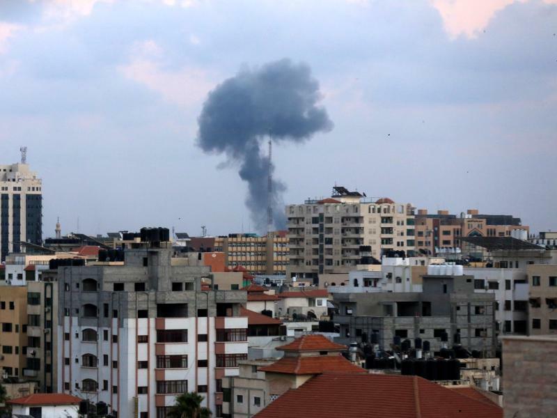 Israelischer Luftangriff auf Gaza - Foto: Dawoud Abo Alkas/APA Images via ZUMA Wire