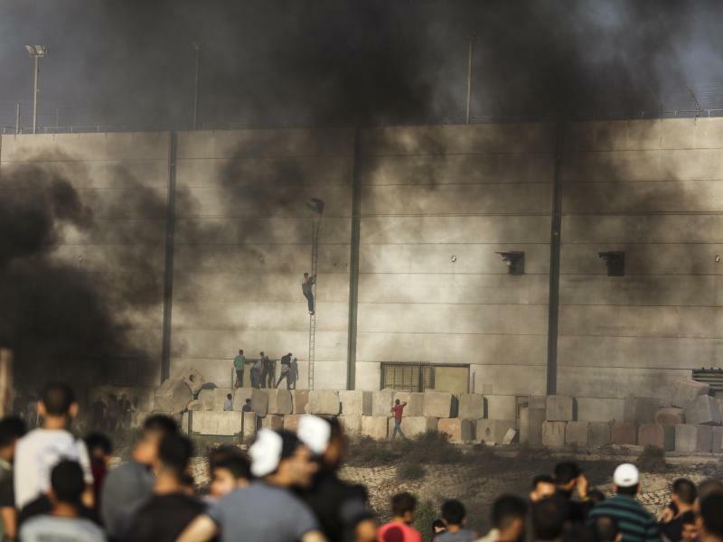 Unruhen im Gazastreifen - Foto: Wissam Nassar