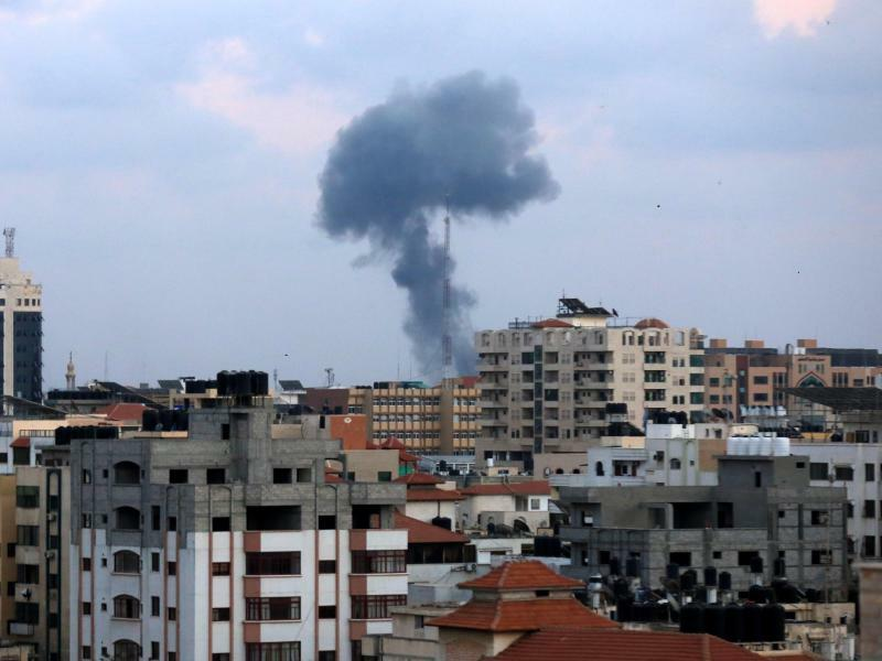 Luftangriff - Foto: Dawoud Abo Alkas, APA/Zuma