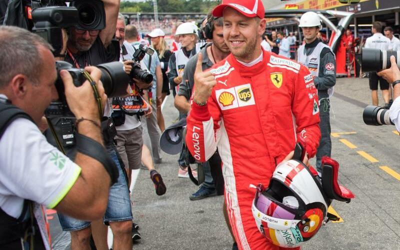 Sebastian Vettel - Foto: Sebastian Gollnow