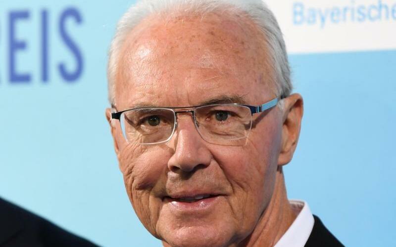 Franz Beckenbauer - Foto: Franz Beckenbauer bei der Verleihung des Bayerischen Sportpreises in München. Foto:Andreas Gebert